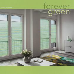MHZ Plissee Farbkarte forever green
