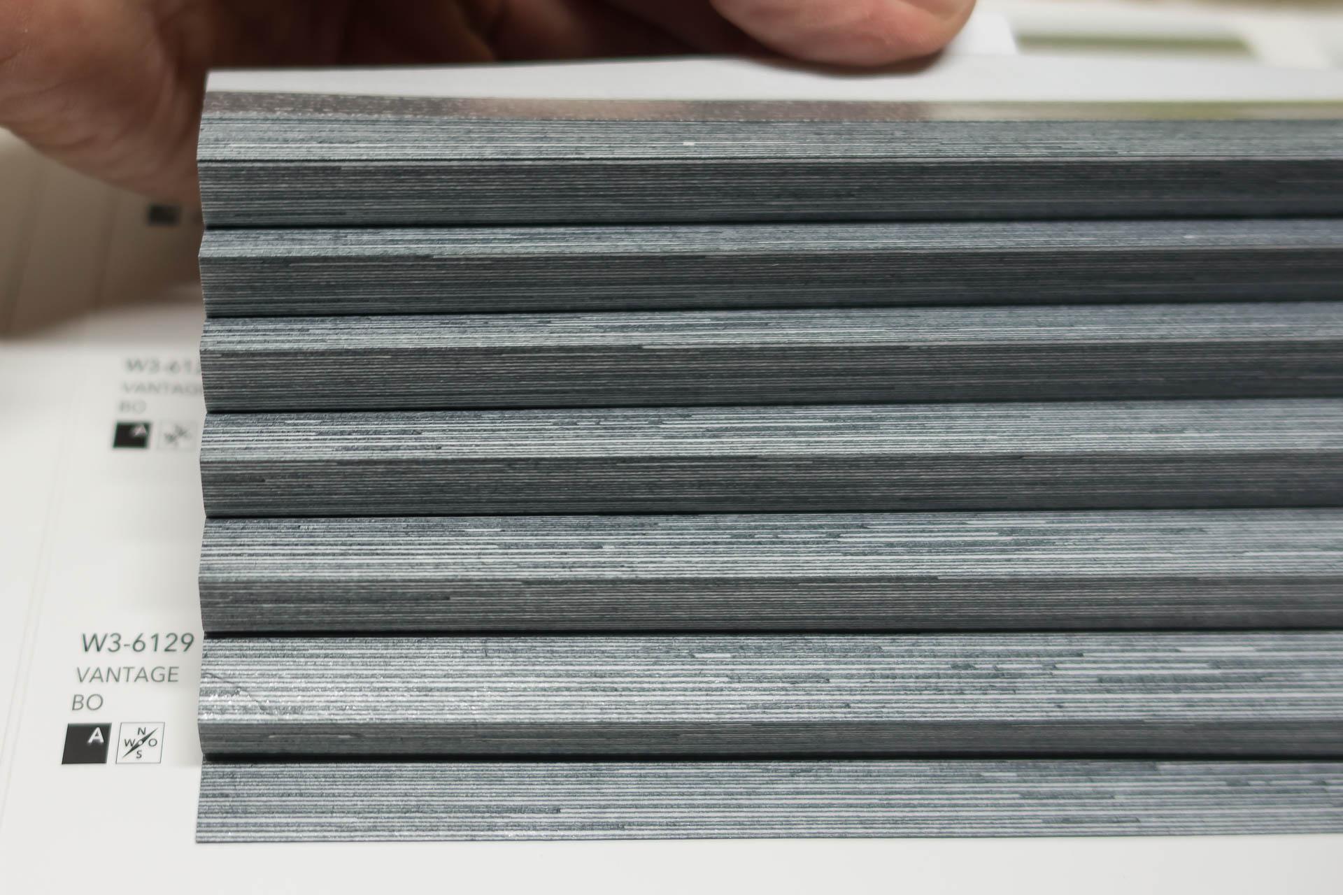 "Waben-Plissee-Stoff aus der Farbkarte ""Vantage BO"" | Material: 100 % PES"